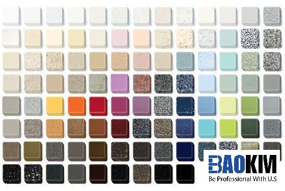 Có màu sắc đa dạng phù hợp với nhiều phong cách thiết kế