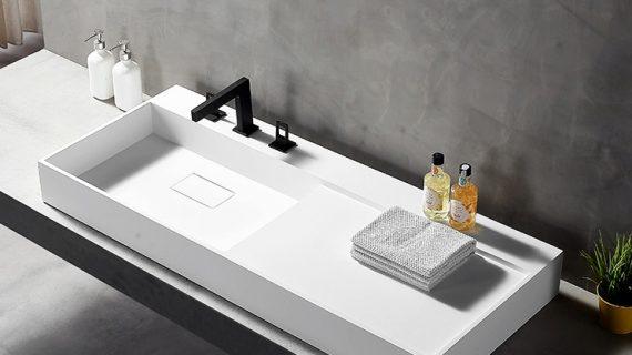 Thiết kế chậu rửa mặt bàn đá có gì nổi bật?